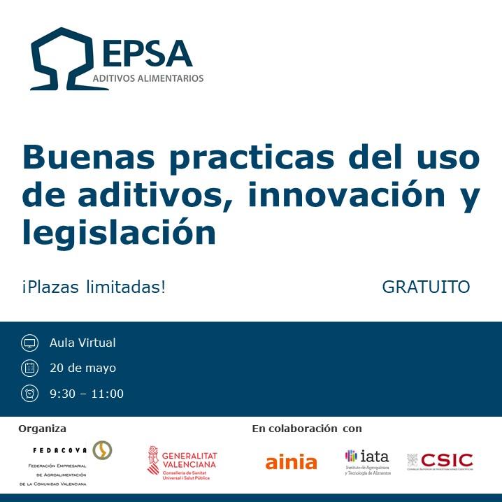 Invitación formación EPSA 20 de mayo